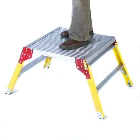 Picture of Large Aluminium Platform - Glass Fibre Legs