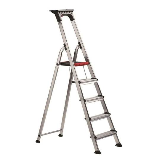 Picture of Double Decker Aluminium Stepladder with Tool Tray