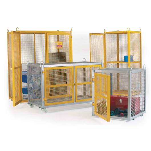 Picture of Galvanised Security Cages